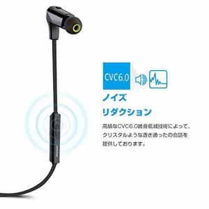 Mpow Swallow Bluetooth スポーツイヤホン ヘッドセット ランニング/ジョギングに対応 スマートフォン/タブレットPCなど用(ブラック)
