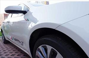 BMW NEW シリーズ 3D ステッカー シール 左右 セット (三色)