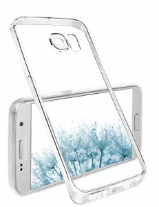 Galaxy S7 ケース, Taken TPUクリアケース シンプルケース オシャレ カメラ保護デザイン ギャラクシー S7 5.1インチ適用 軽