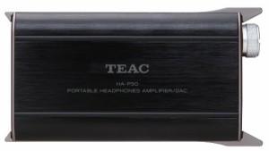 TEAC ポータブルヘッドホンアンプ DAC搭載 ハイレゾ音源対応 ブラック HA-P50-B