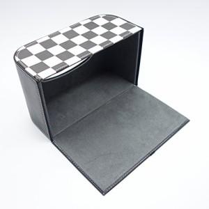 小型 コンパクト ティシュ ボックス BOX ケース / BMW ミニ クーパー車 載 CAR カー 【選べる3色】 ユニオンジャック ブラック