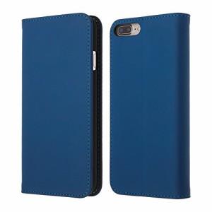 Highend berry iPhone8 iPhone7 Plus iPhone7 Plus ケース 手帳型 PU レザー ケース ブルー