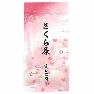 M 花びらひらくお茶 さくら茶 40g(1袋)/ホ/ ほんぢ園
