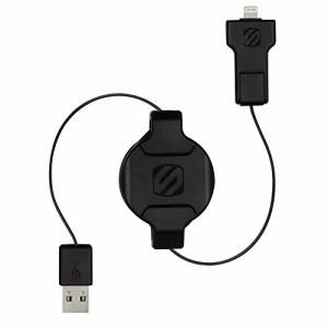 (国内正規品) SCOSCHE 巻き取り式 Lightning/microUSB充電シンクケーブル RETRACTABLE CHRG & SYNC CBL FOVICES ブラック I2MR