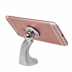 車載ホルダー 【KuGi】 マグネット スマホ車載ホルダー 360度回転可能 iPhone SE / iPhone 6s / 6s plus / iPhone / Sony / ASUS / HuaWe
