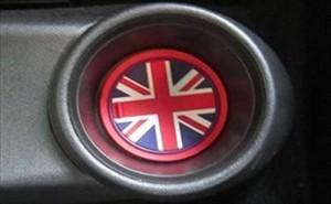 BMW MINI ドア ポケット カバー ドリンク ホルダー コースター セット (ユニオンジャック)