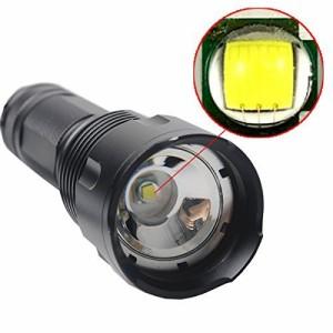 SUNSPOT ズーム機能付き  CREE XM-L T6 ledライト 強力 懐中電灯 単3・18650・26650対応