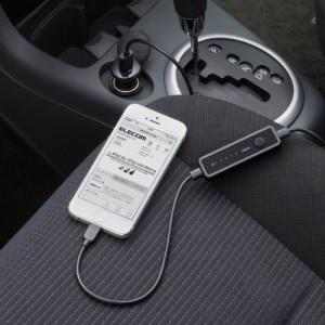 Logitec ロジテック iPhone6 iPhone6 Plus 対応FMトランスミッター (Apple認証 Made for iPhone取得) Lightningコネクタ オートスキャン