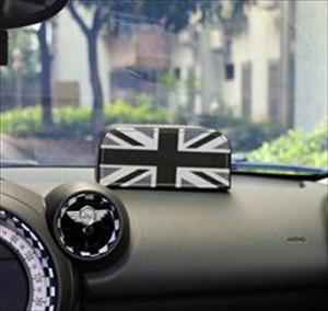 BMW MINI ティッシュボックス 小型 (ブラックユニオンジャック)
