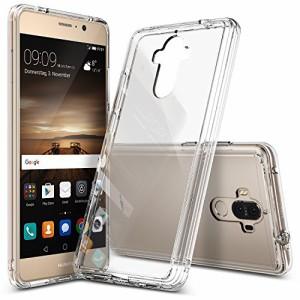 Huawei Mate 9 ケース, Ringke [FUSION] [米軍MI (HuaweiMate9, Clear/クリア)