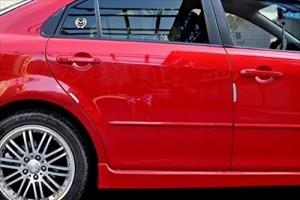 BMW NEW シリーズ ドア ステッカー キズ 防止 (チェック)