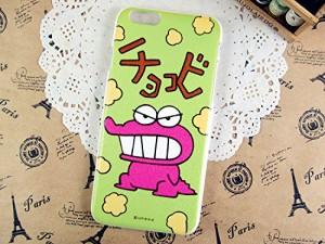 クレヨンしんちゃん チョコビ iPhone6/iPhone6S対応 指紋の付きにくいハードケース (全2