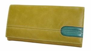 672b26ca6d2f 【送料無料 牛革】 シンプルだからこそ機能的、カジュアルな長財布 「4