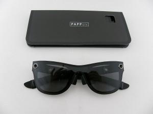 ■新品■ PAPP UV-127-Cosmo-S-Black サングラス Sサイズ 小さめ ギフト ドイツ産 パーティー 贈りもの プレゼント