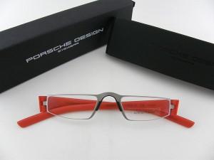 ■新品■ ポルシェ 老眼鏡 8801-O-S+2.50 オレンジ 橙 軽量 軽い スポーツカー 紳士 スマート ビジネス