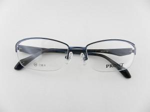 送料無料 PRONT 1.6薄型レンズ付 プロント 2056-4 メガネ ネイビー 紺 眼鏡 めがね お買得 レンズセット スーツ