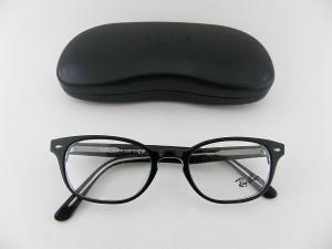 レイバン 5209F-2034 メガネフレーム 日本製 ブラック めがね 伊達眼鏡 度付き可 05PTRB