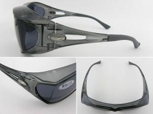 ■新品■アックス AXE サングラス 偏光 605P-SM-SSM スモーク JAF MATE掲載 偏光レンズ アウトドア 釣り
