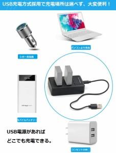 【送料無料】CANON LP-E6対応縦充電式USB充電器 PCATEC LCD付4段階表示2口同時充電仕様USBバッテリーチャージャー