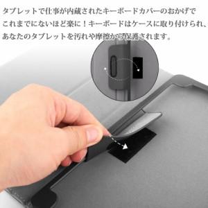 【送料無料】docomo arrows Tab F-02K 専用レザーケース付き Bluetooth キーボード☆バンド開閉式 ケース☆US配列☆日本語入力対応