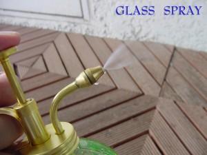ガーデニング雑貨 ダルトン 生活雑貨 ガラススプレー 霧吹き DULTON GLASS SPRAY ブルー
