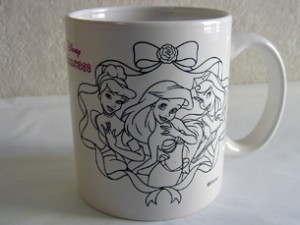 マイマグカップ ディズニーレインボーキット プリンセス