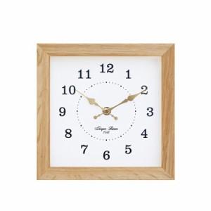 バウムクロックNA 壁掛け時計 掛け時計 木製 レトロ シンプル