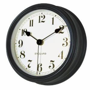 ユナイテッドクロックBK 掛け時計 音がしない 連続秒針 壁掛け時計 レトロ アンティーク