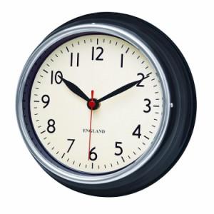 チェルシークロック BK 掛け時計 音がしない 連続秒針 壁掛け時計 レトロ アンティーク