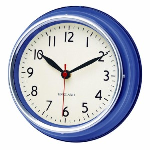 チェルシークロック BL 掛け時計 音がしない 連続秒針 壁掛け時計 レトロ アンティーク