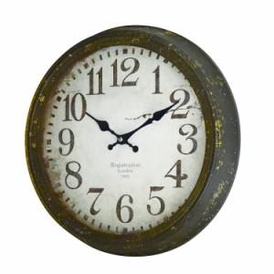 送料無料 アンティーククロック C-BK  掛け時計 レトロ 壁掛け時計 アンティーク