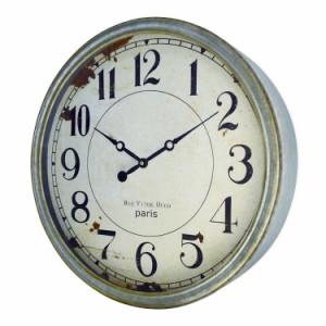 送料無料 アンティーククロック F  掛け時計 レトロ 壁掛け時計 アンティーク