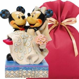 送料無料 ディズニーフィギュアギフトセット(結婚祝いカード&ラッピング付き)【L】 結婚祝い ディズニー 贈り物 ウェディング
