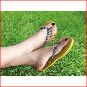 ビーチサンダル サンダル おしゃれ かわいい メンズ レディース ブルービーチサンダル LIMPID-POOL (M) BLUE