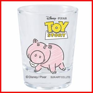 ミニグラス ハム ディズニー コップ トイストーリー 食器 ショットグラス