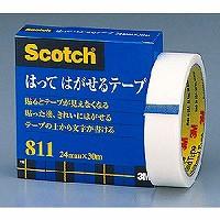 スコッチ・3M はってはがせるテープ 811-3-24