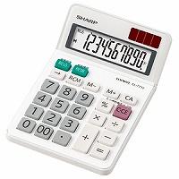 シャープ 電卓ミニ ナイスサイズ EL-771J-X