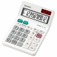 シャープ 電卓ミニ ナイスサイズ EL-772J-X