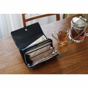 日本製牛革ジャバラ財布 K18-243