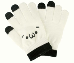 2198b266b55ee5 癒し顔・・・[ しょぼーん ]スマホ タブレット タッチパネル 3本指 対応 手袋