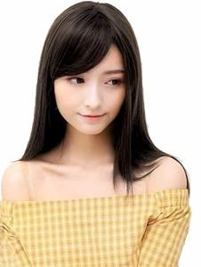 8ad37d7870b042 ウィッグ セミロング トップカバー 斜め 前髪 エクステ 部分ウィッグ 小顔 減齢 女性 かつら 可愛い