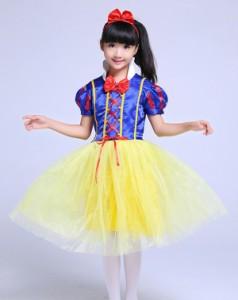 コスプレ ディズニー 白雪姫 白雪姫 衣装3点セット 120cmctr-866【1〜2日発送】