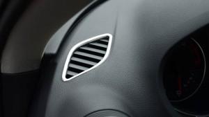 アウディ(Audi)A3 8V フロント エアコン ベント リム 2013‐2017に適用ctr-i77【8〜12日発送】
