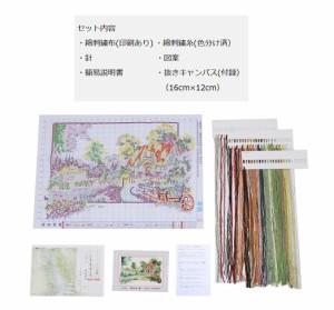 これ素敵っ クロスステッチ 刺繍 キット 四季の夏 L324lvt-324【1〜2日発送】