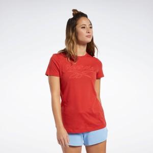 【返品可】【公式】リーボック Reebok トレーニング エッセンシャルズ グラフィック Tシャツ / Training Essentials Graphic Tee レディ