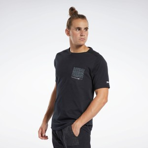 【公式】リーボック Reebok セール価格 Training Supply グラフィック ポケット Tシャツ / Training Supply Graphic Pocket Tee メンズ
