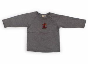 【ハッシュアッシュ/HusHush】Tシャツ・カットソー 80サイズ 男の子【USED子供服・ベビー服】(103089)