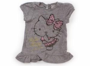 【マザウェイズ/motherways】Tシャツ・カットソー 80サイズ 女の子【USED子供服・ベビー服】(106406)