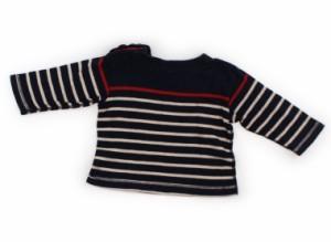 【プチバトー/PETIT BATEAU】Tシャツ・カットソー 70サイズ 男の子【USED子供服・ベビー服】(106459)