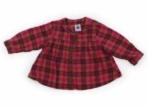【プチバトー/PETIT BATEAU】Tシャツ・カットソー 60サイズ 女の子【USED子供服・ベビー服】(106460)